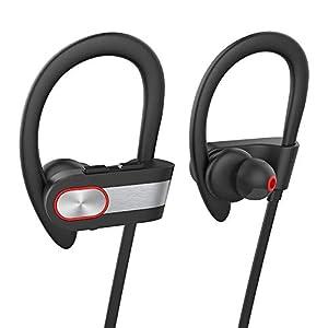 liuxi9836 A7 Drahtloses Bluetooth Headset V4.1 EDR wasserdichte Sport Lavalier Deep Bass Kopfhörer