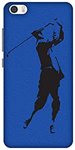 The Racoon Grip The Golfer hard plastic printed back case / cover for Xiaomi Mi 5