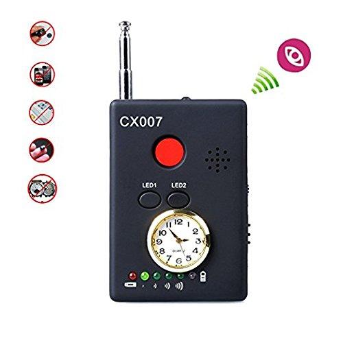 EPTEK@ CC309 detector de señal inalámbrico GPS GSM Wifi G3 G4 Sms Rf Detector de espías bug Cámara de señal inalámbrica cámara oculta Buscador de lentes