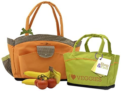 Mommy &me Grammy Farmer's Market Tote Set by Mommy & Me