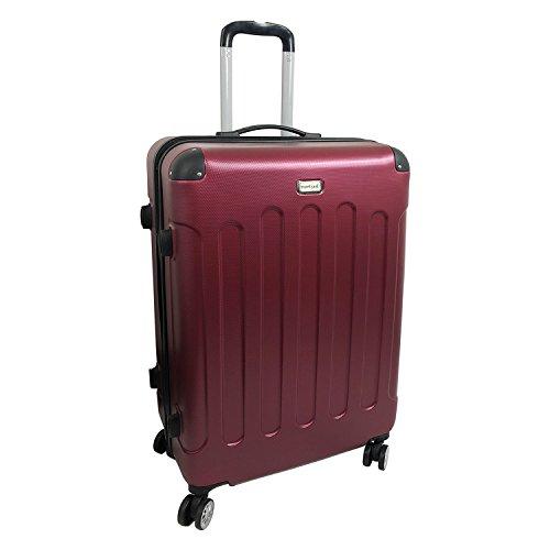 XXL Hartschalen Koffer Reisekoffer Reise Trolley Trolly Reisetasche Weichgepäck Reise Burgundrot Koffer