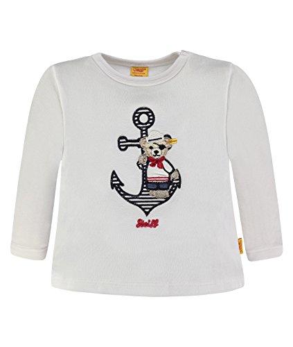 (Steiff Collection Jungen T-Shirt 1/1 Arm 6832521, Weiß (Bright White 1000), 68)