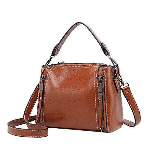 NMERWT Frauen Umhängetasche Kleine Quadratische Tasche Wild Casual Messenger Bag Damen Vintage Handtasche Crossbody Schultertasche Umhängetasche