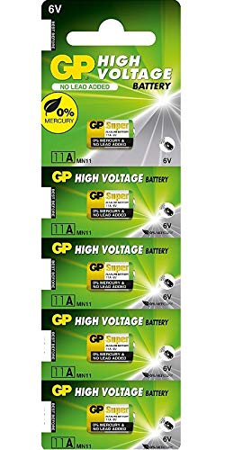 GP Batteries Super Alkaline GP11 A-C5 Alkali 6 V Batterie