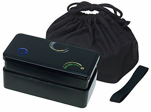 KLS9 Mens Lunch Bento Box Double with Bag (japan import)
