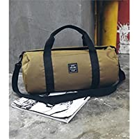 7fc8b26bd25d9 Godlife Leicht Outdoor Polyester große Kapazität Sporttasche Sporttasche  Reise Weekender Seesack (Khaki) für Bergsteiger