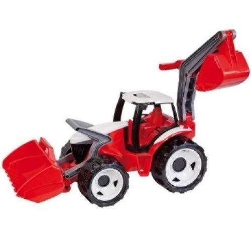 Lena 02081 - Riesen Traktor mit Frontlader und Baggerarm, Blau/Weiß Preisvergleich