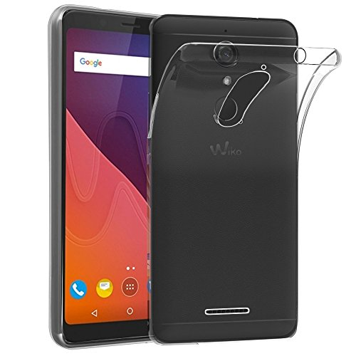 ebestStar - Wiko View Hülle View 16GB 32GB Handyhülle [Ultra Dünn], Premium Durchsichtige Klar TPU Schutzhülle, Soft Flex Silikon, Transparent [Phone: 151.5 x 73.1 x 8.7mm, 5.7'']