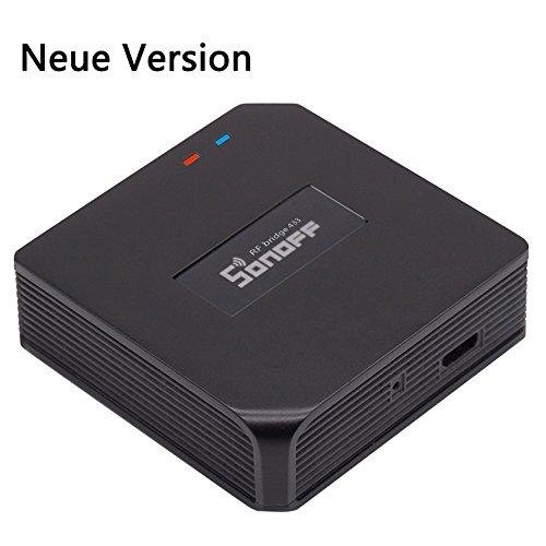Rf-handsender (Sonoff Universal RF 433Mhz Fernbedienung Wifi Radio Frequency Konverter Smart Home Hub Smartphone mit Timer)