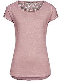 Urban Surface Damen T-Shirt LUS-076 mit Spitze