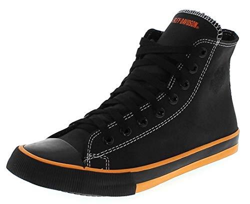 FB Fashion Boots Herren Sneaker D93816 Nathan Schnürschuhe High-Top Sneaker Schwarz 43 EU inkl. Schuhdeo Wolverine Harley Davidson