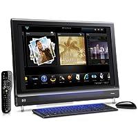 HP Pavilion IQ810de 64,8 cm (25,5 Zoll) Desktop-PC (Intel Core 2 Duo, 2,1GHz, 4GB RAM, 640GB HDD, NVIDIA GF 9600M GS HD, Blu-ray-ROM/DVD-Brenner, Vista Home Premium)