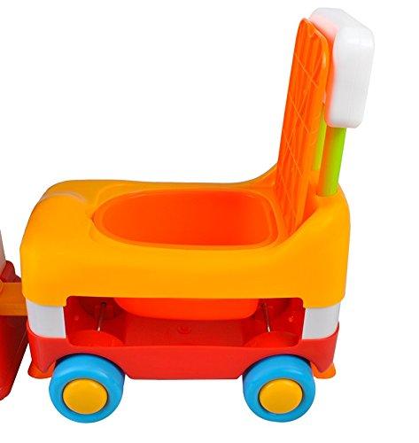 Babyrutscher Lauflernhilfe Eisenbahn Rutscherfahrzeug Lokomotive Musik #1376 - 3