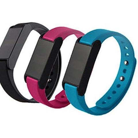 Bluetooth 4.0 smartband (impermeabile / contapassi / sleep monitoraggio / bluetooth / ultra-lunga attesa / basso irraggiamento) , blue