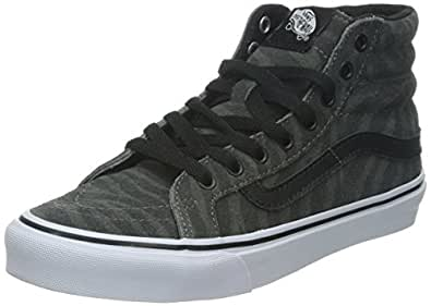 vans damen ua sk8 hi high top grau talla. Black Bedroom Furniture Sets. Home Design Ideas