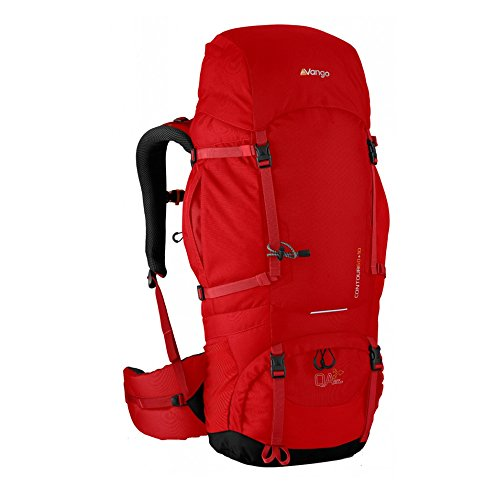 Preisvergleich Produktbild Vango Contour 60+10 Rucksack - Lava Red
