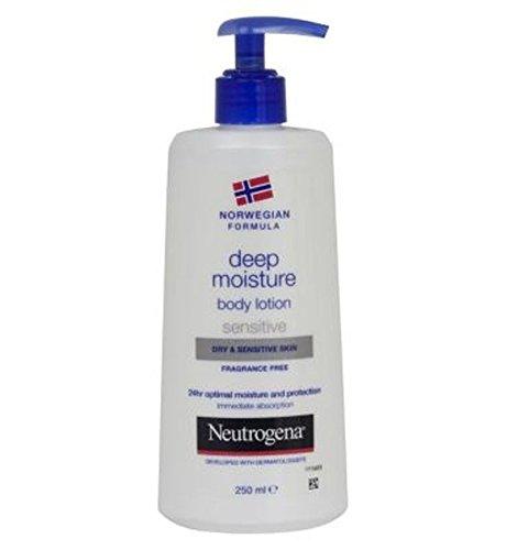 Neutrogena Norwegian FormulaProfondo Lozione Per Il Corpo Moistuire Sensibile Per Pelli Secche E Sensibili 250ml Pelle