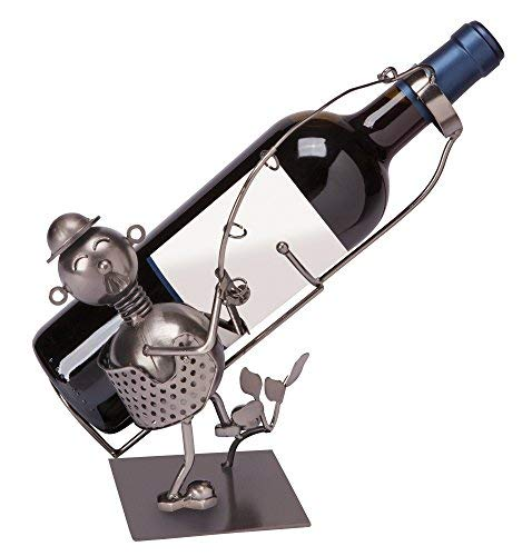 Die Paragon Weinflaschenhalter-Fisherman Form Funny Wein Flasche Halter Ständer Paragon Form