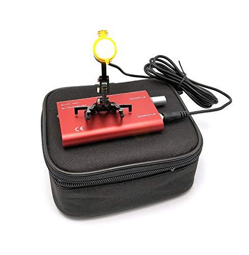 Super-eu 3 W LED dental quirúrgico luz de la cabeza de la lámpara con filtro de clip del faro rojo Color