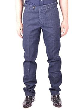 Jacob Cohen Hombre MCBI160339O Azul Algodon Pantalón