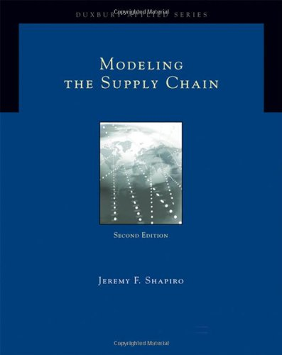 Modeling the Supply Chain (Duxbury Applied)