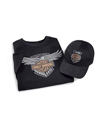 Ridepack 115 Jahre Harley-Davidson Edition, 2-teilig Size M (T-shirt Großes Harley-davidson)