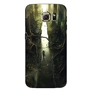 NATURE GIRL BACK COVER FOR SAMSUNG GALAXY S6 EDGE PLUS