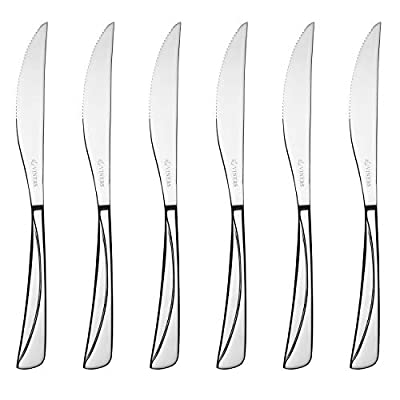 Viners Angel 6 Piece Steak Knives Set 18/0