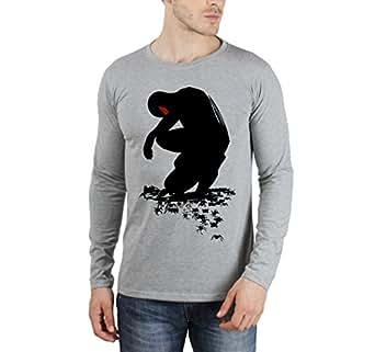 Spiderman Grey full sleeve T-shirt
