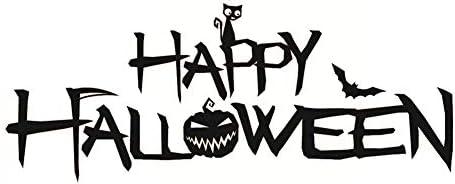 newin Star posible posible posible de la murale de Halloween posible de la murale des lettres de Halloween pour la décoration de l'étiquette jambes-diy de la fenêtre (f003) B07GTHWFNW 78afaa