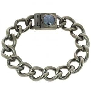 Diesel dX0881060 bracelet pour homme en acier inoxydable gris