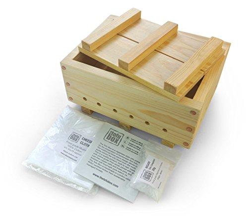 Kit per tofu. Misura Extra Large, fa circa 1200g di tofu. Fatto a mano a Londra.