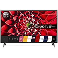 LG 43UN71006LB 43 Inch UHD 4K HDR Smart LED TV with Freeview HD/Freesat HD - Ceramic Black colour (2020 Model) with Alexa built-in [Energy Class A]