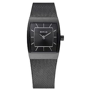 BERING Damen-Armbanduhr Analog Quarz Edelstahl 11219-077