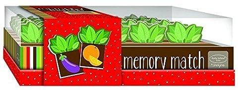 Kathy Ireland Memory Match Game: Garden Harvest by Bendon Inc.