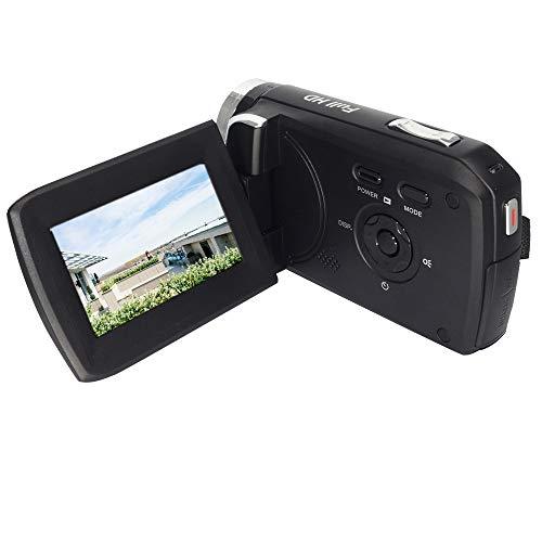 GDV5250 Videocamera digitale 1080P Full HD Videocamera DV con batteria ricaricabile/Schermo LCD TFT da 2,7' / Rotazione di 270 gradi per bambini/principianti / anziani Regalo di Natale