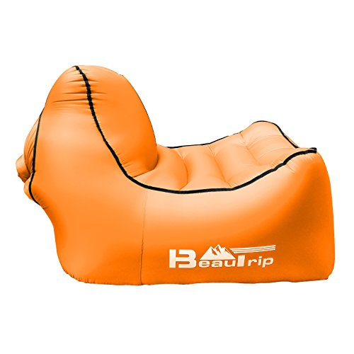 0,7 kg Aufblasbarer Schlafsofa tragbar Schnell Außen aufblasbares Air Sofa/Bett/Boot/liege für Outdoor Wandern Lounge Strand und Garten Freizeit Schlafsäcke Camping Bett Aufblasbare Strandliegen