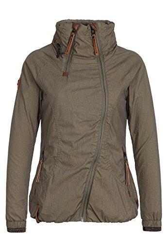 Naketano Female Jacket Kanone ist geladen Olive, XL