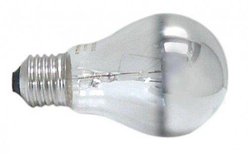 Osram Glühlampe, Spezial Kopfspiegellampe in silber, E27-Sockel, 60 Watt (Spezial-sockel)