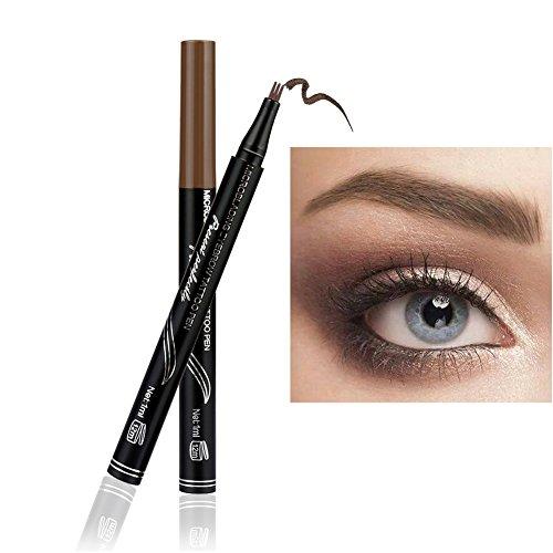 3D Tattoo Eyebrow Pen OYOTRIC Eyebrow Tattoo Long-lasting Waterproof Pen Eyebrow Pencil Eyebrows Shade Eyebrow Tint Kit (A01)