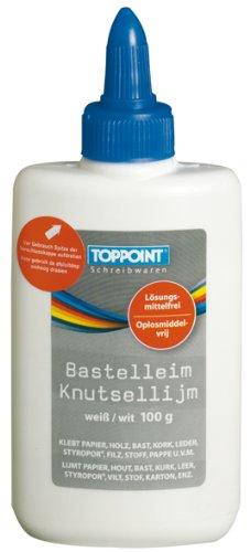 3x Bastelkleber Bastelleim 100g Flasche Klebstoff Kleber Klebemittel