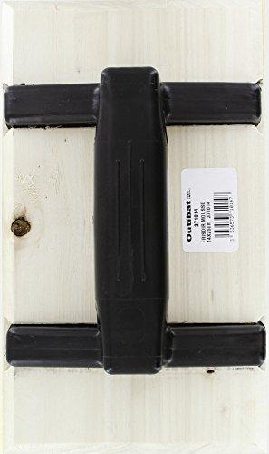 Frisoir mousse rectangulaire Outibat - Dimensions 14 x 25 cm