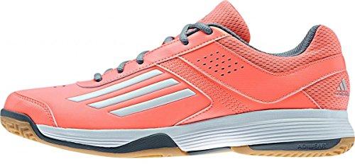 adidas Counterblast 3 Damen Handball -Turnschuhe - Weiß-Orange-43.5