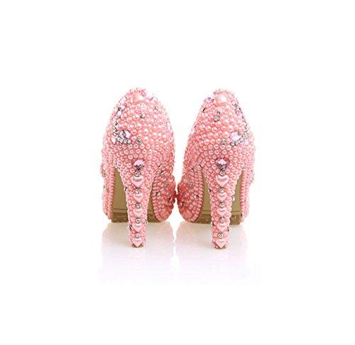 Minitoo , Plateforme femme Pink-10cm Heel