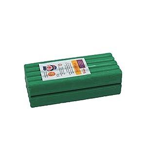 Stellwag 100233-de modelar Plastilin, 1000g, Color Verde