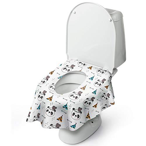 -Toilettensitzbezug für das Töpfchentraining mit Klebepads ()