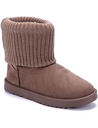 b0aa982bf636eb Schuhtempel24 Damen Schuhe Winterstiefeletten Stiefel Boots flach schlupf  Emu