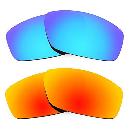 Revant Ersatzlinsen für Spy Optic Dirty Mo Polarisiert 2 Paar Kombipack K002