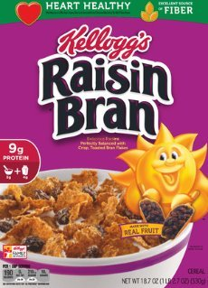 Kellogg's Raisin Bran Cereal 18 7 oz (2 Pack)