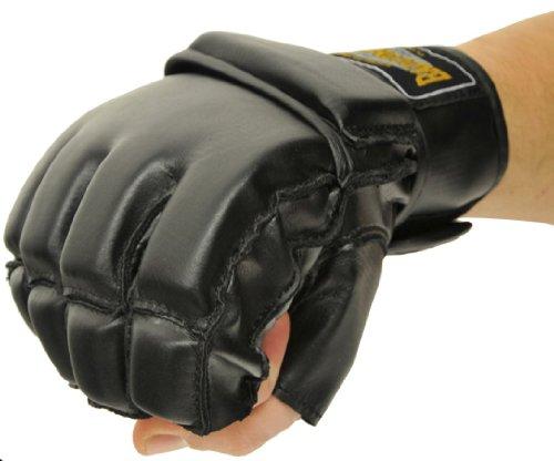 Bad Company MMA Handschuhe Combat Grappling I Trainingshandschuhe I Gr. M (Combat Sports Handschuhe)